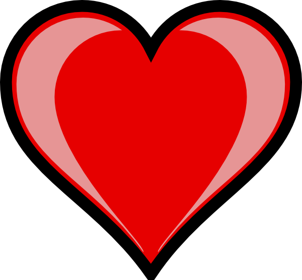 Highlight clip art at. Number 1 clipart heart