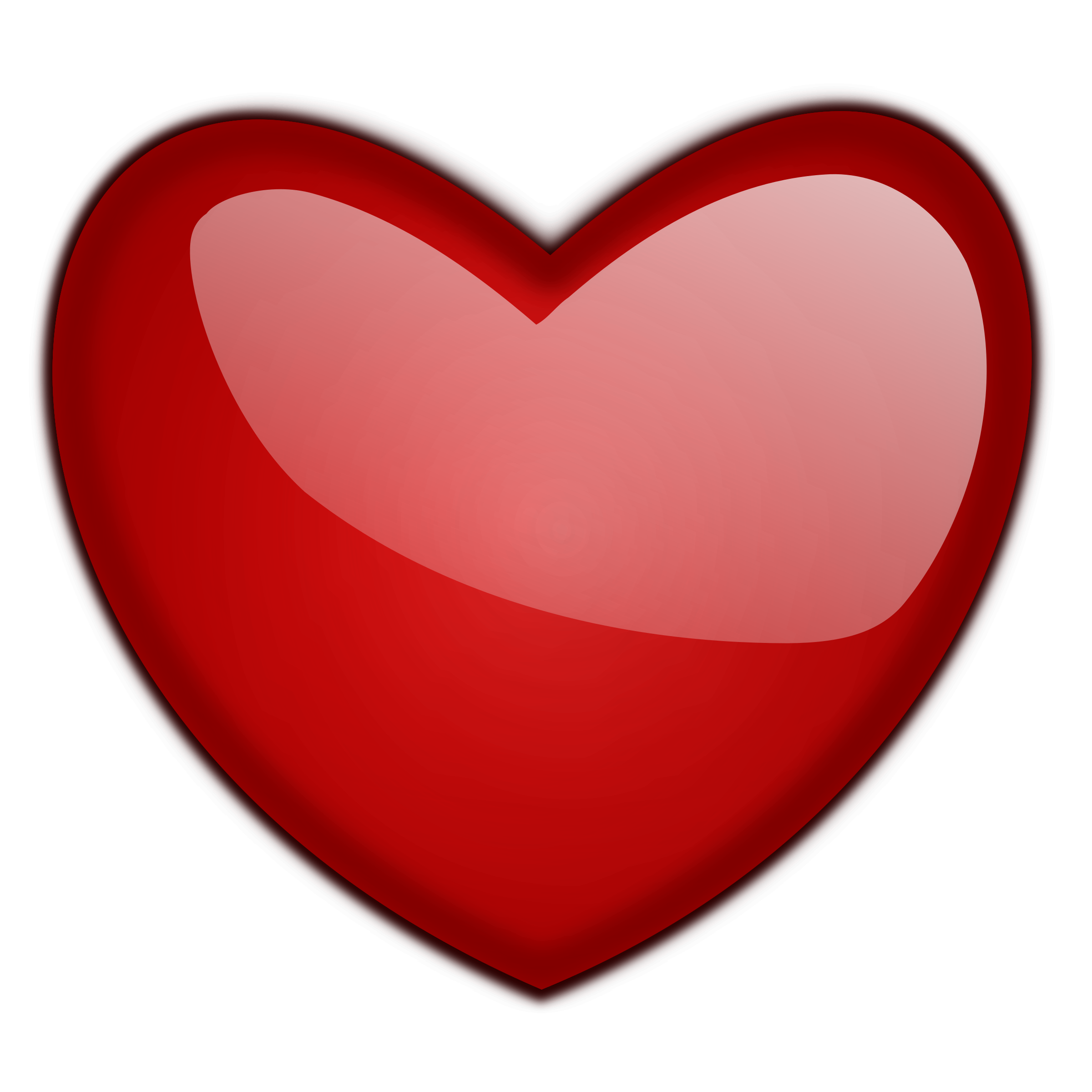 Gloss big image png. Number 1 clipart heart