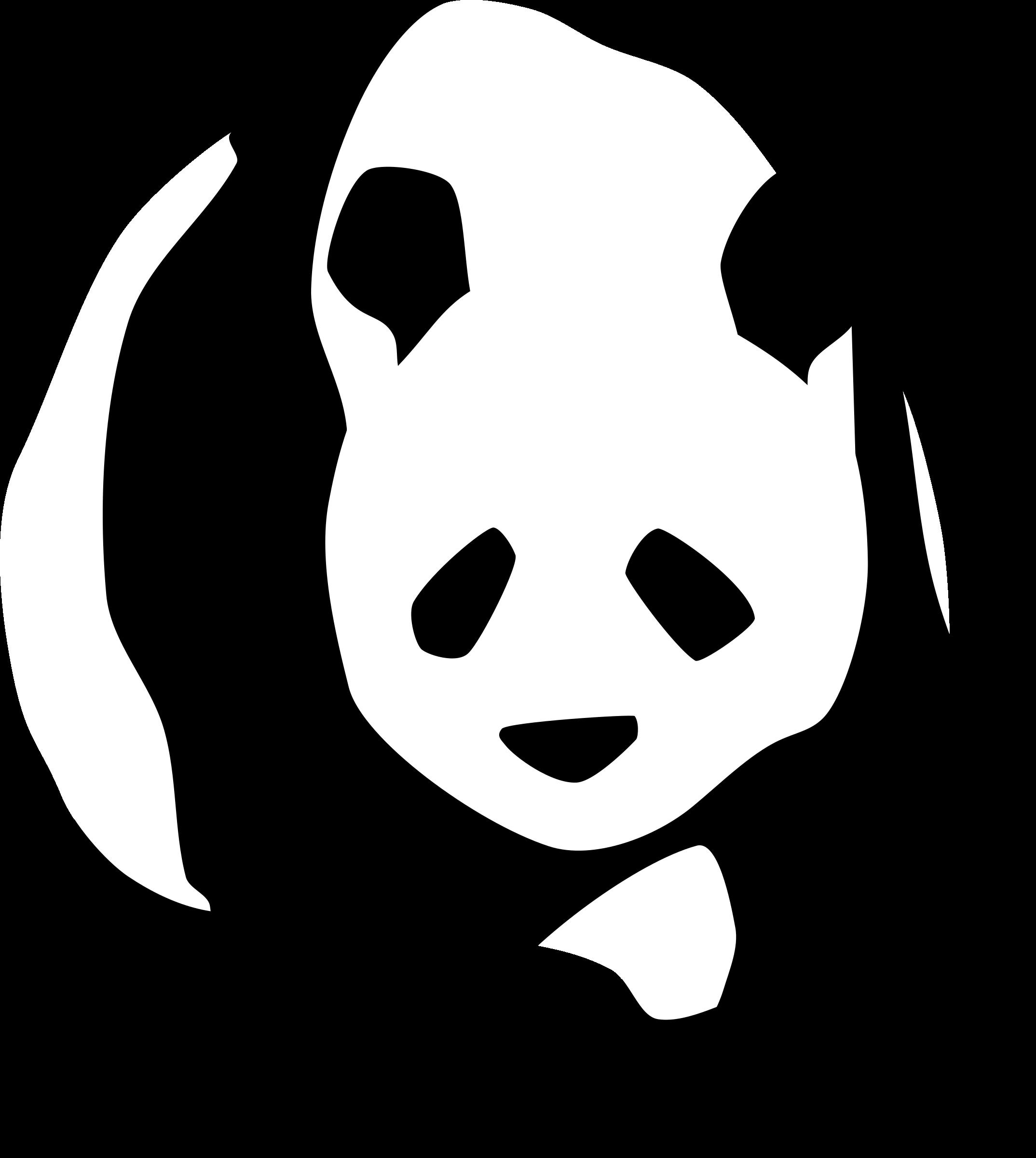 Giant panda big image. Number 1 clipart huge