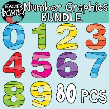 Math graphics . Number clipart mathematics