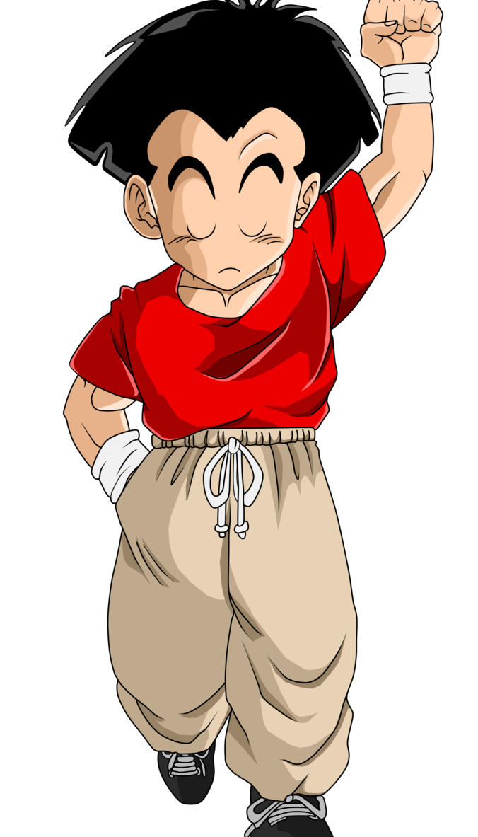 Number 1 clipart number person. Krillin earthling by zed
