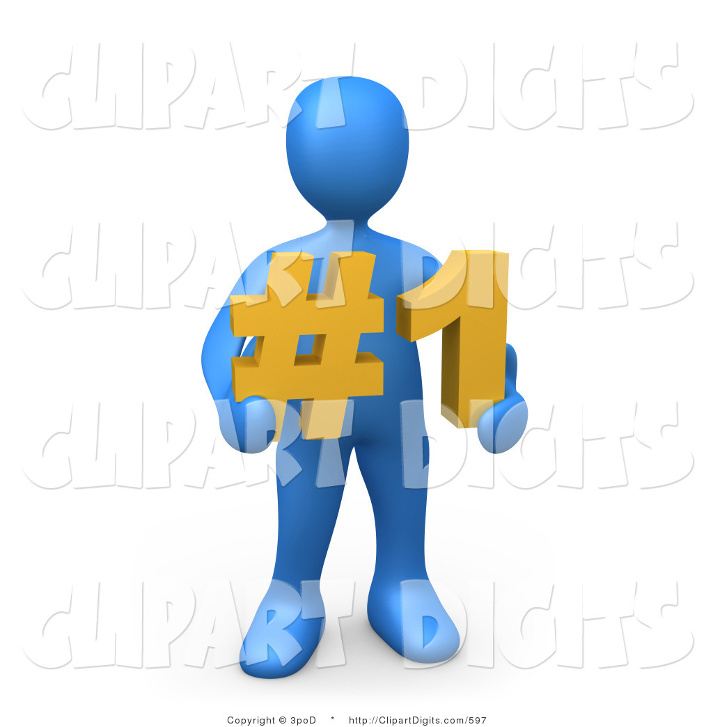 Number 1 clipart number person. One free download best
