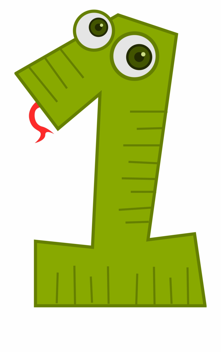 Number 1 clipart numbes.  collection of cute