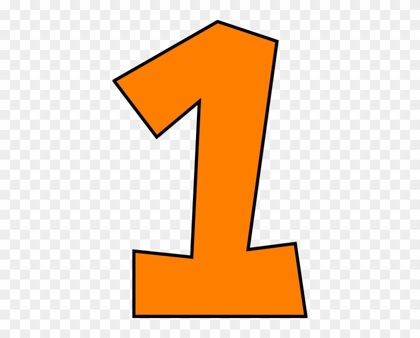 Graphic of the one. Number 1 clipart numeral