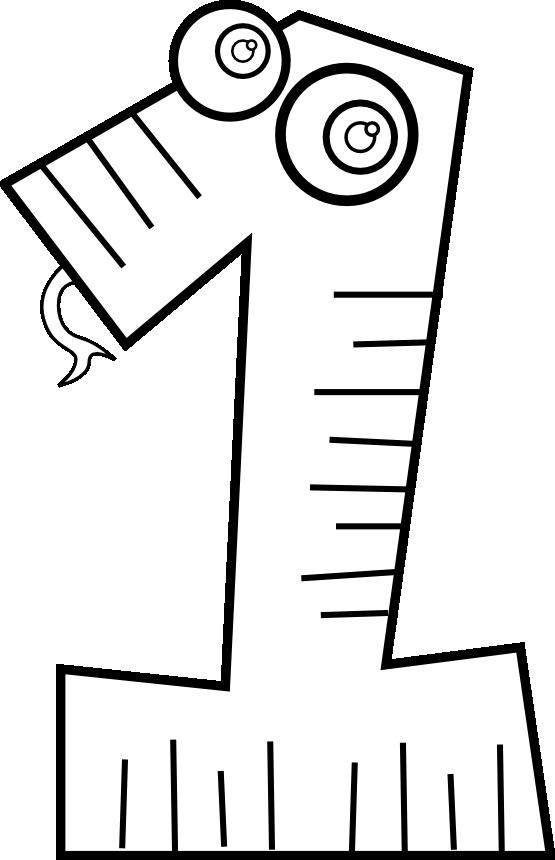 Number 1 clipart svg. Clipartist net clip art