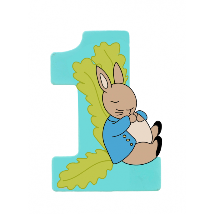 Number 1 clipart turquoise. Peter rabbit orange tree