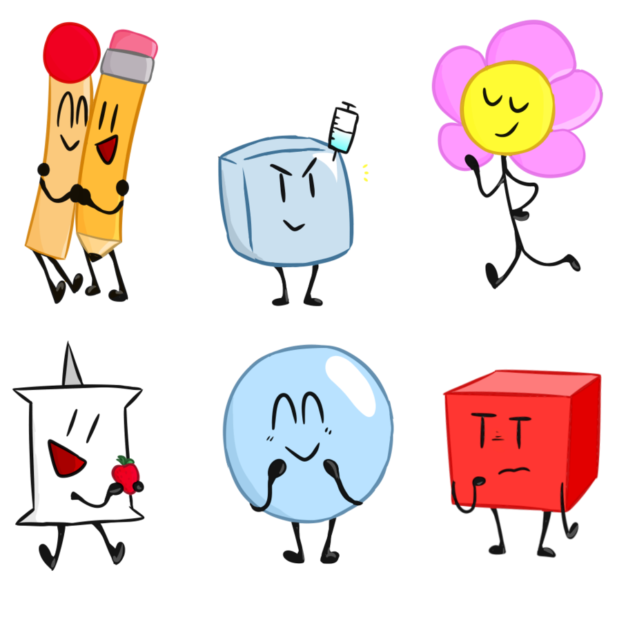 Bfdi month by mawileprince. Number 1 clipart week 1