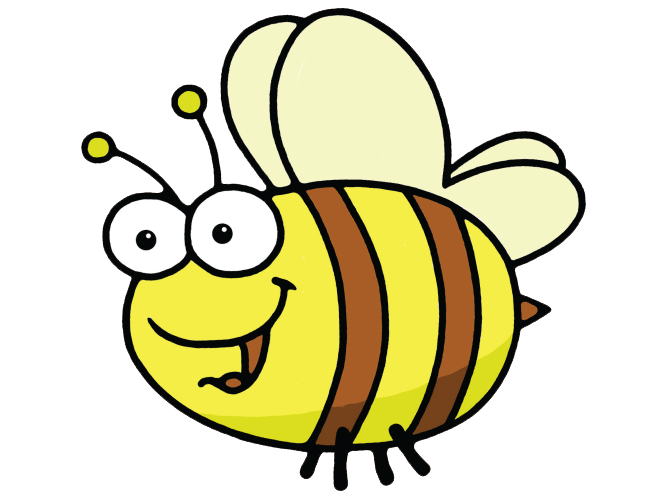 Busy bee olds crossbasket. Number 1 clipart year old
