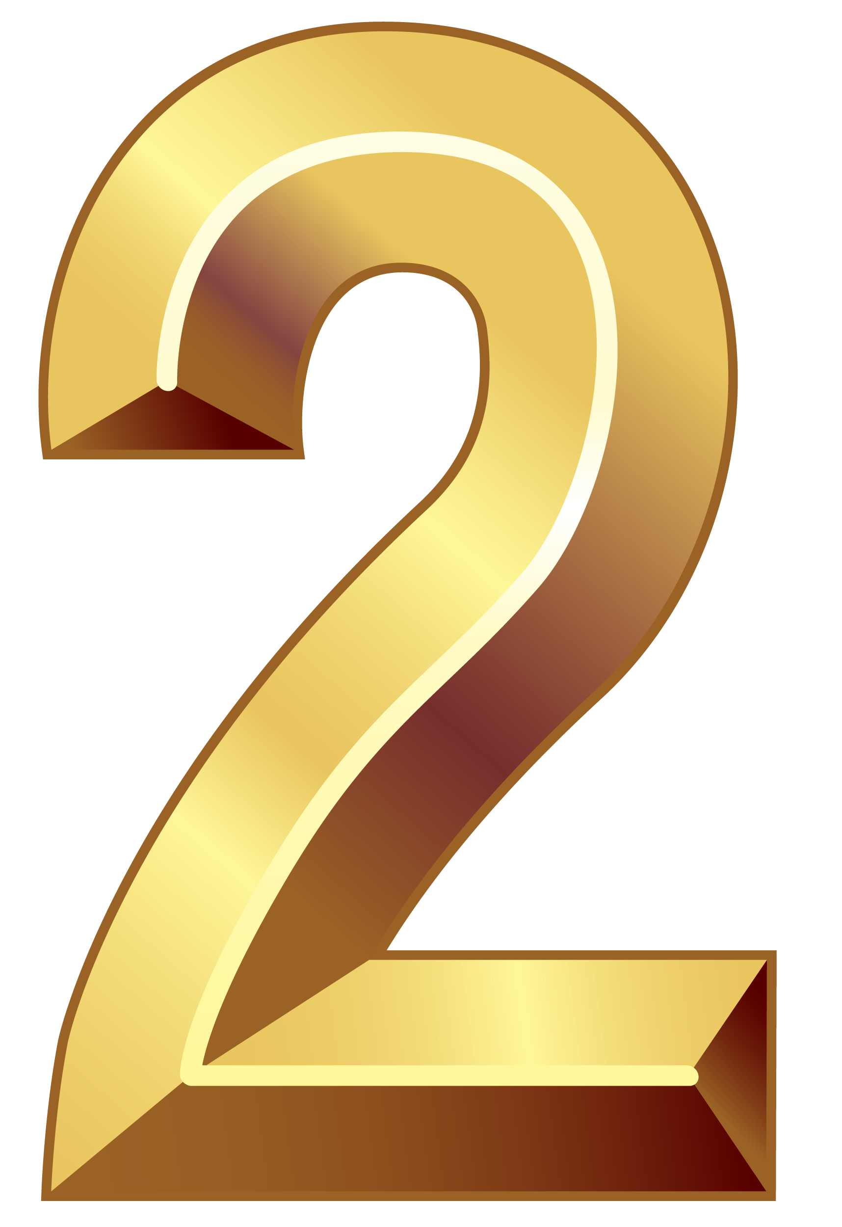 Number 2 clipart 2png.  collection of two