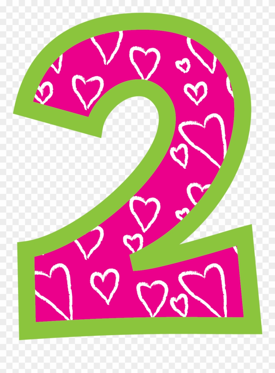 birthday png transparent. Number 2 clipart 2png