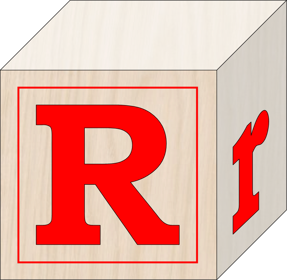 Blocks free images at. R clipart svg
