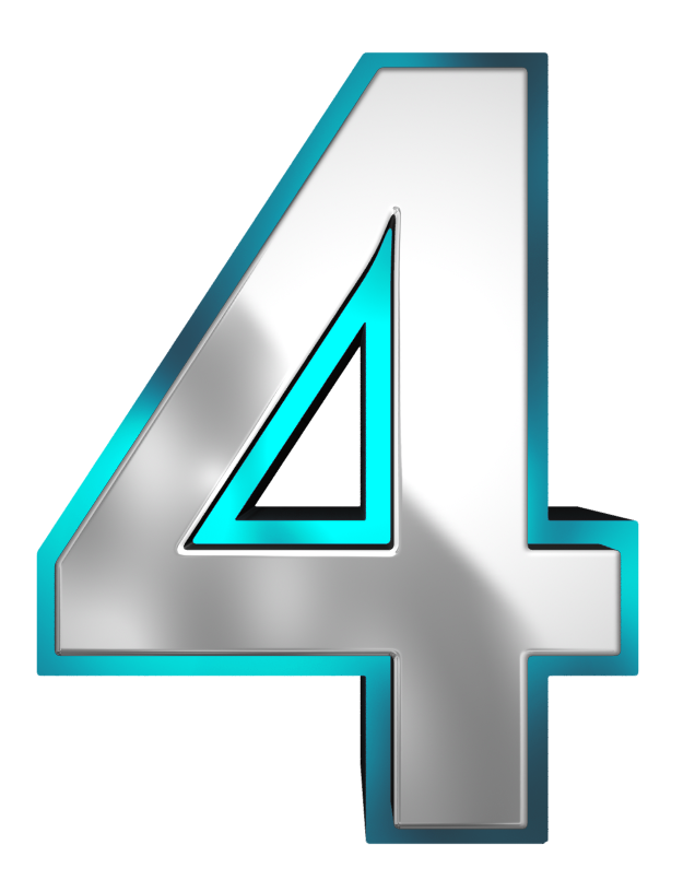 Numbers pinterest . Number clipart blue