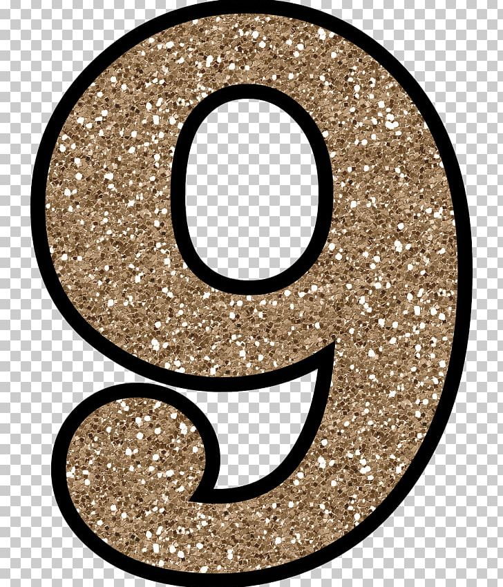 Glitter png circle clip. Number 2 clipart glittery