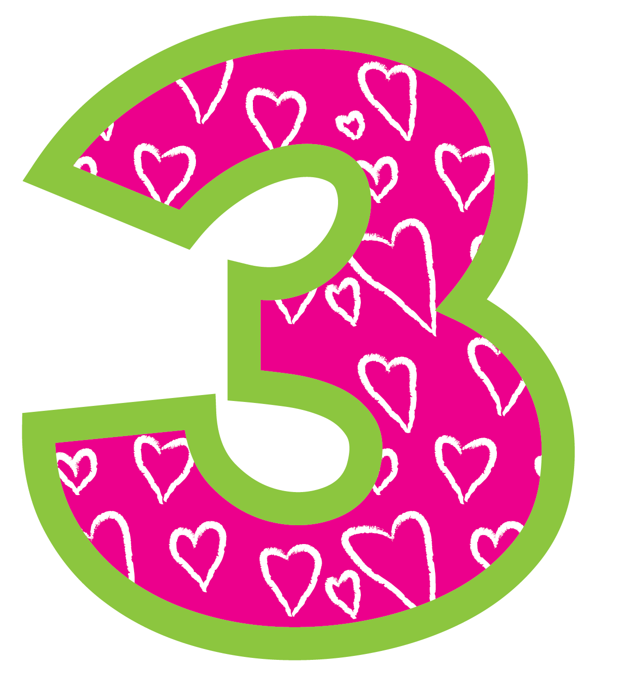Number 2 clipart grade. Happiness is watermelon shaped