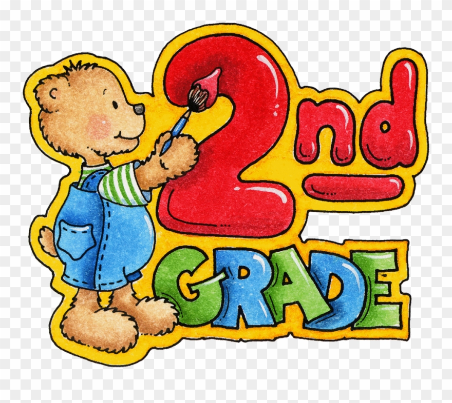Students plain view combined. Number 2 clipart grade