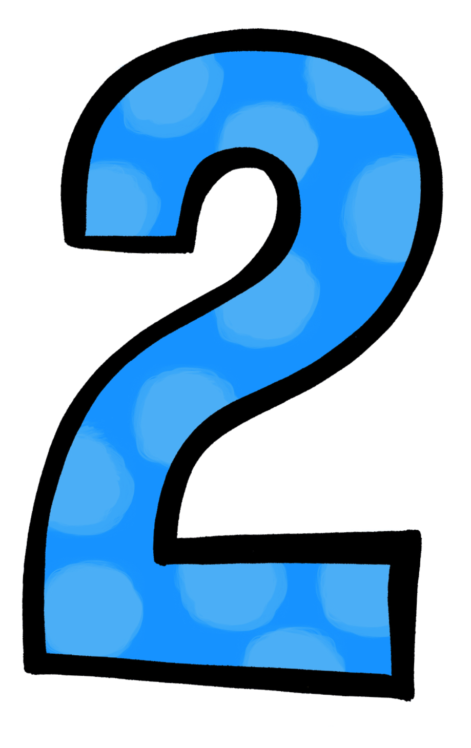 Number 2 clipart green. Images clipartioncom five for