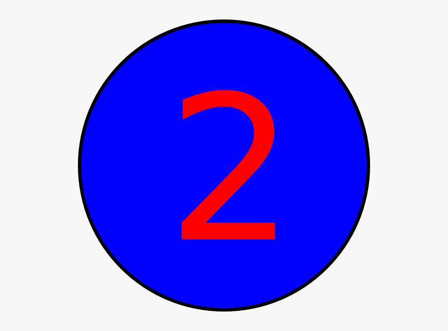 nd birthday clip. Number 2 clipart number 2nd