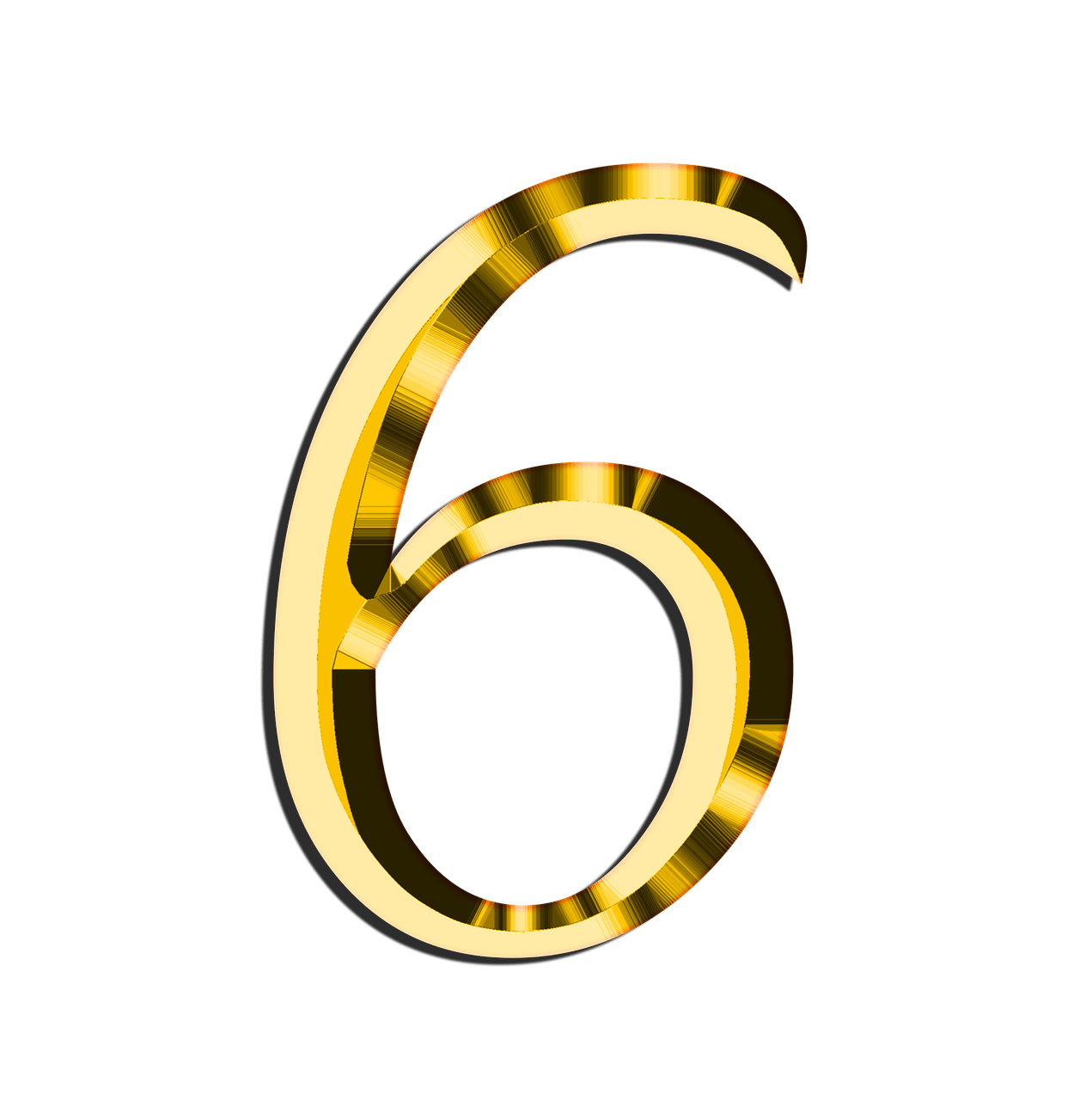 Number 2 clipart yellow. Golden transparent png stickpng