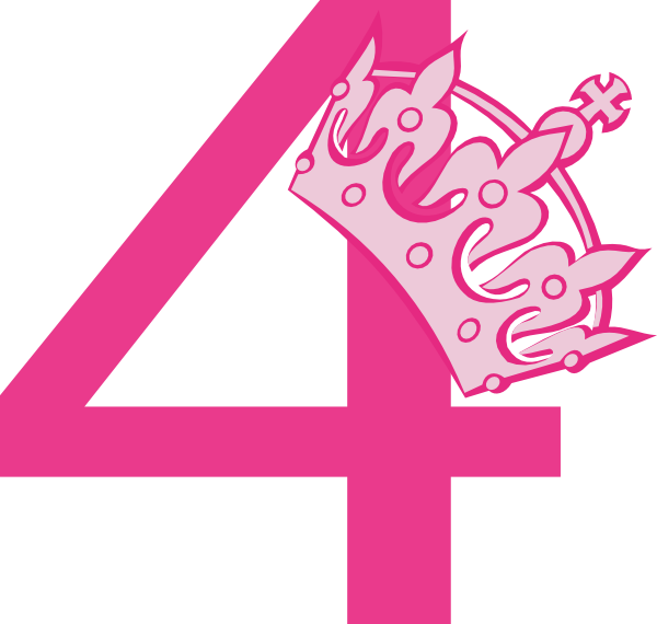 4 clipart pink.  th birthday tiara