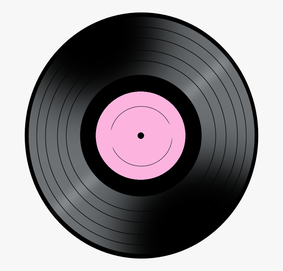 Rock and roll record. Number 4 clipart 4png