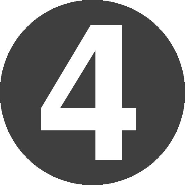 Number 4 clipart 4png. Design clip art at