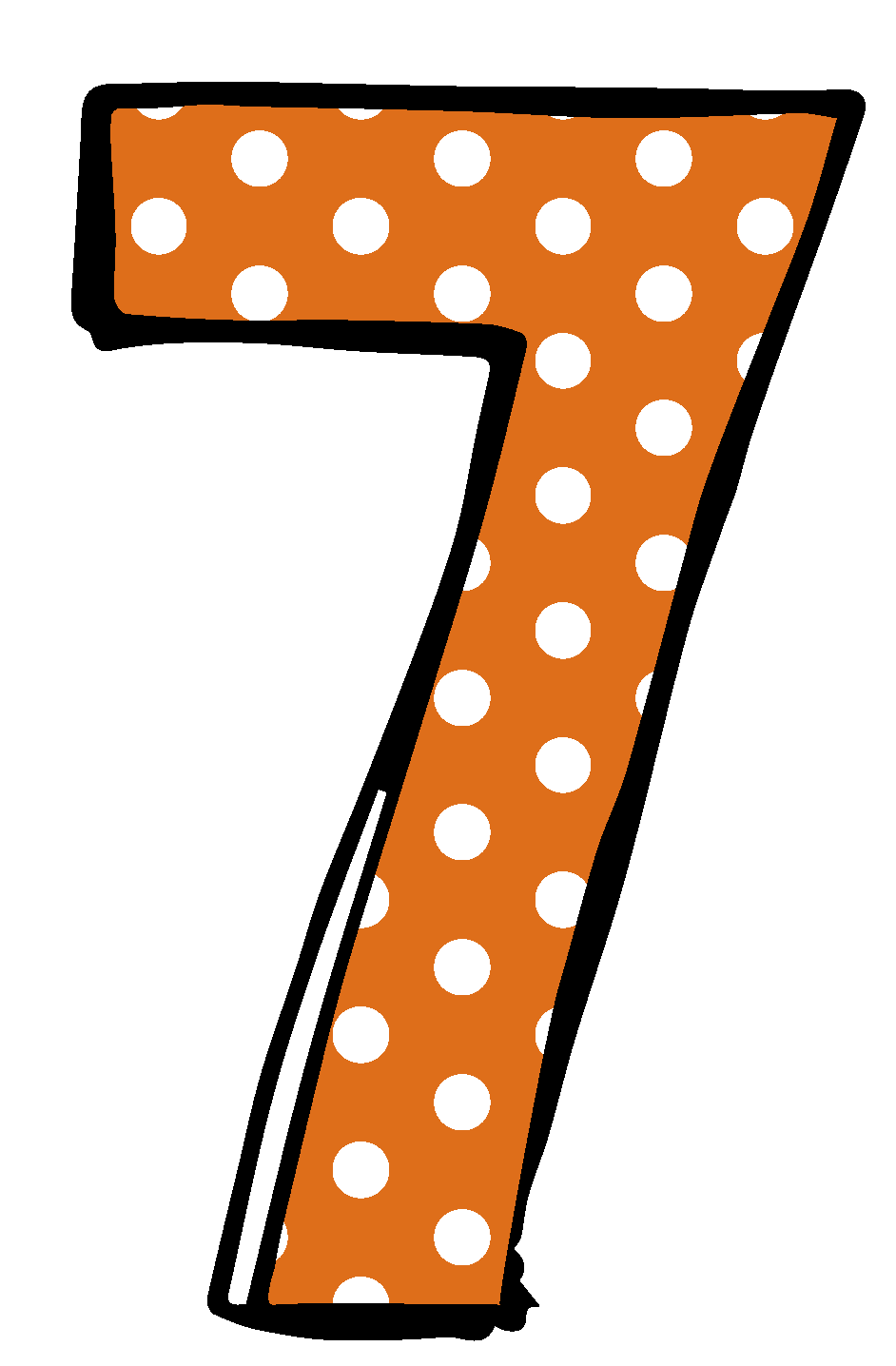 7 clipart 7th. Number free download best