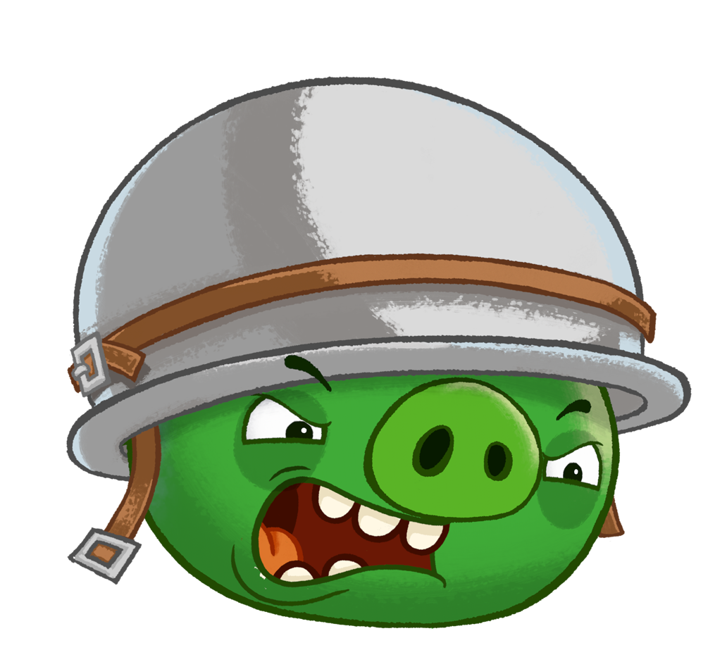 Spaceship clipart angry birds star wars. Image corporal pig png
