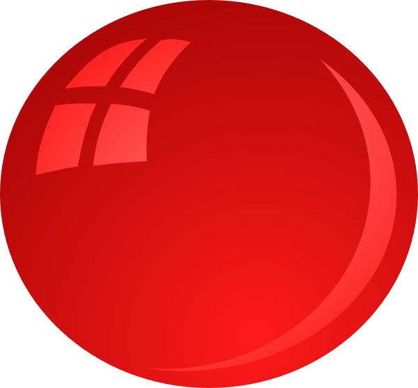Red clip art at. Number 6 clipart bubble