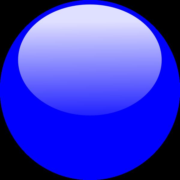 Number 6 clipart bubble. Blue icon clip art