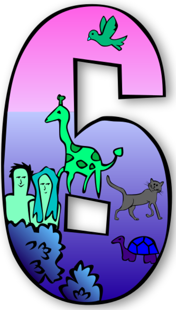 Clip art n free. Number 6 clipart creation number