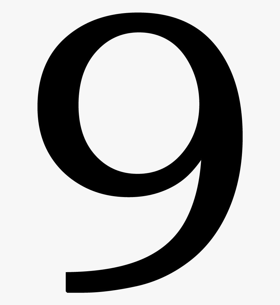 Transparent . Number 6 clipart individual number