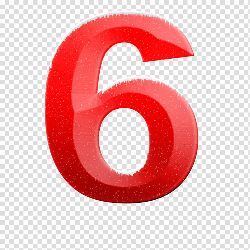 Number 6 clipart logo. Snow alphabet and numbers