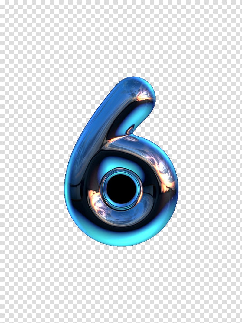 Digit typeface transparent . Number 6 clipart numerical number