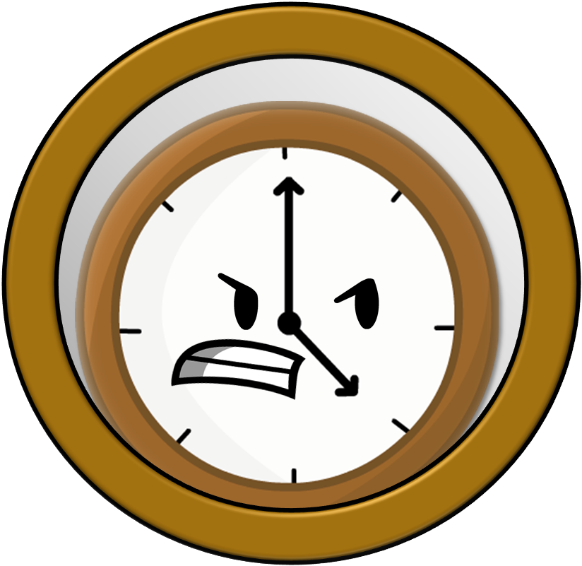 Number 6 clipart object. Overload clock by planetbucket