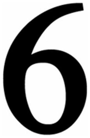 Number 6 clipart small. Pictures of free download