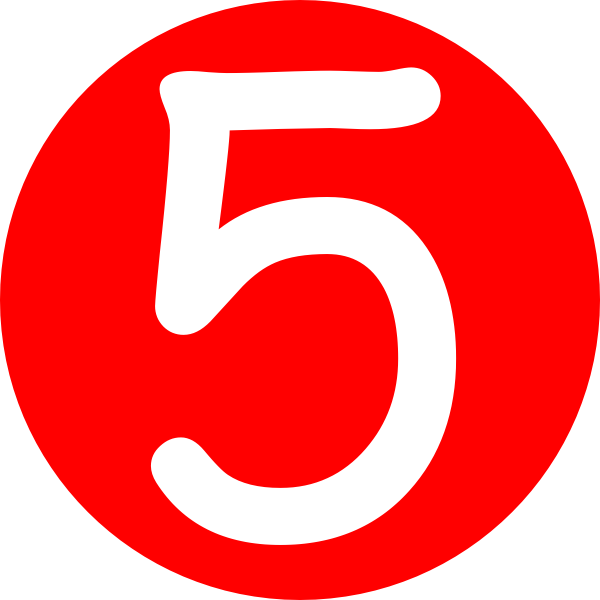 Number five panda free. Working clipart amount