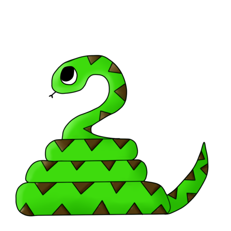 Snake clipart apple. Free clipare black and