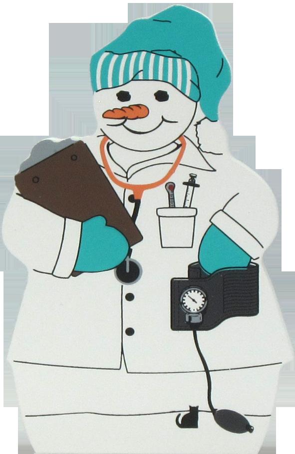 Snowman the s meow. Nurse clipart cat