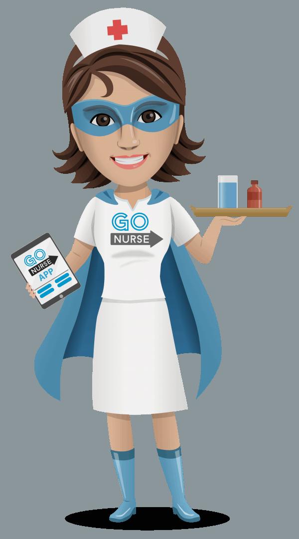 Go best nursing agency. Nurse clipart charge nurse