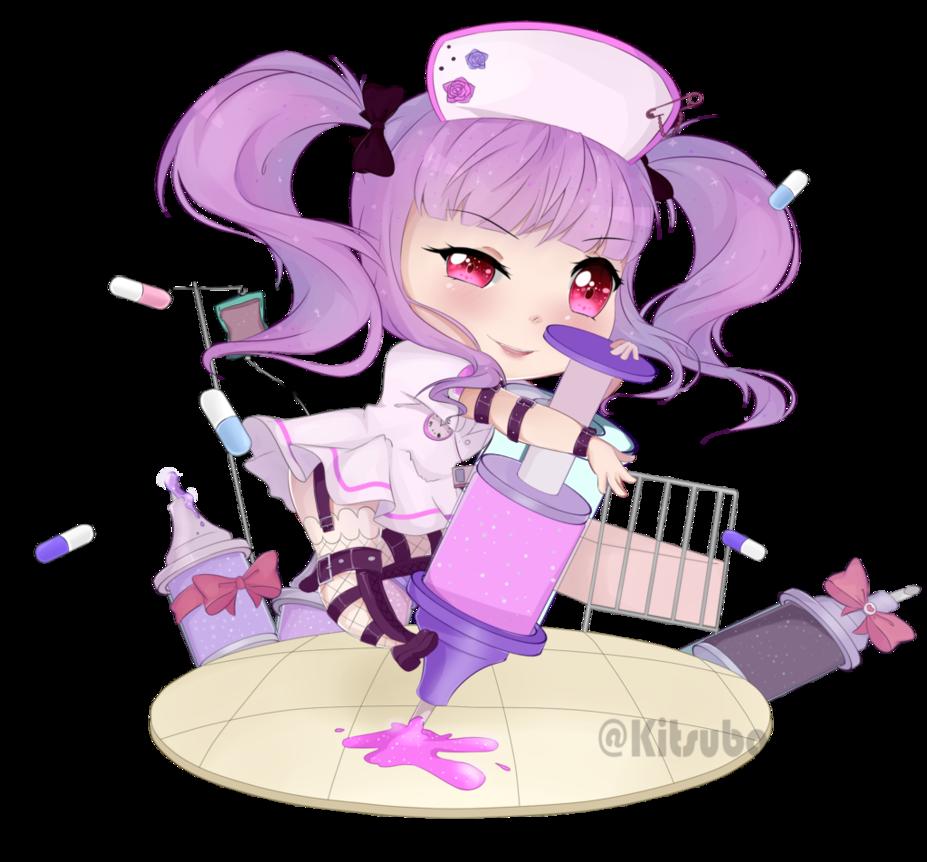 Nurse clipart charge nurse. Bang dream ako the