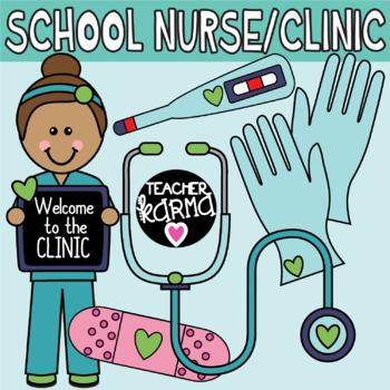 School . Nurse clipart clinic nurse