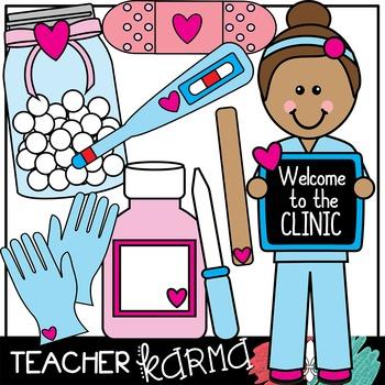 Nurse clipart clinic nurse. School
