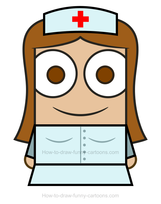 . Nurse clipart easy