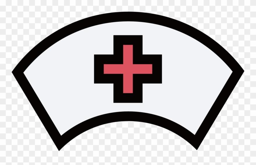 Nurse clipart icon. Nursing nurses cap hat
