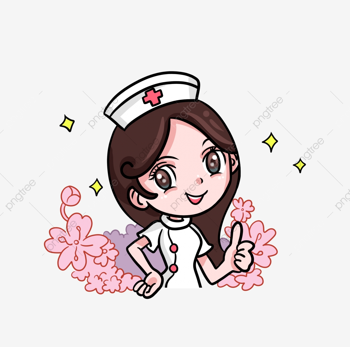 Nurse clipart medical field. Female doctors gentle and