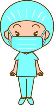Free cliparts surgery illustac. Nurse clipart operating room nurse