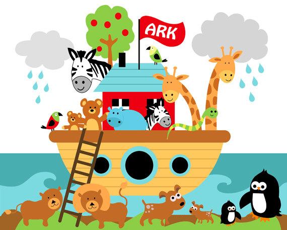 Nursery clipart. Noah s ark child