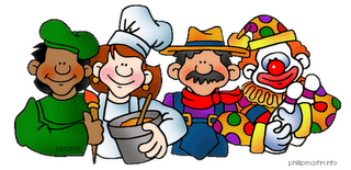 Nursery clipart community. Workers clip art library