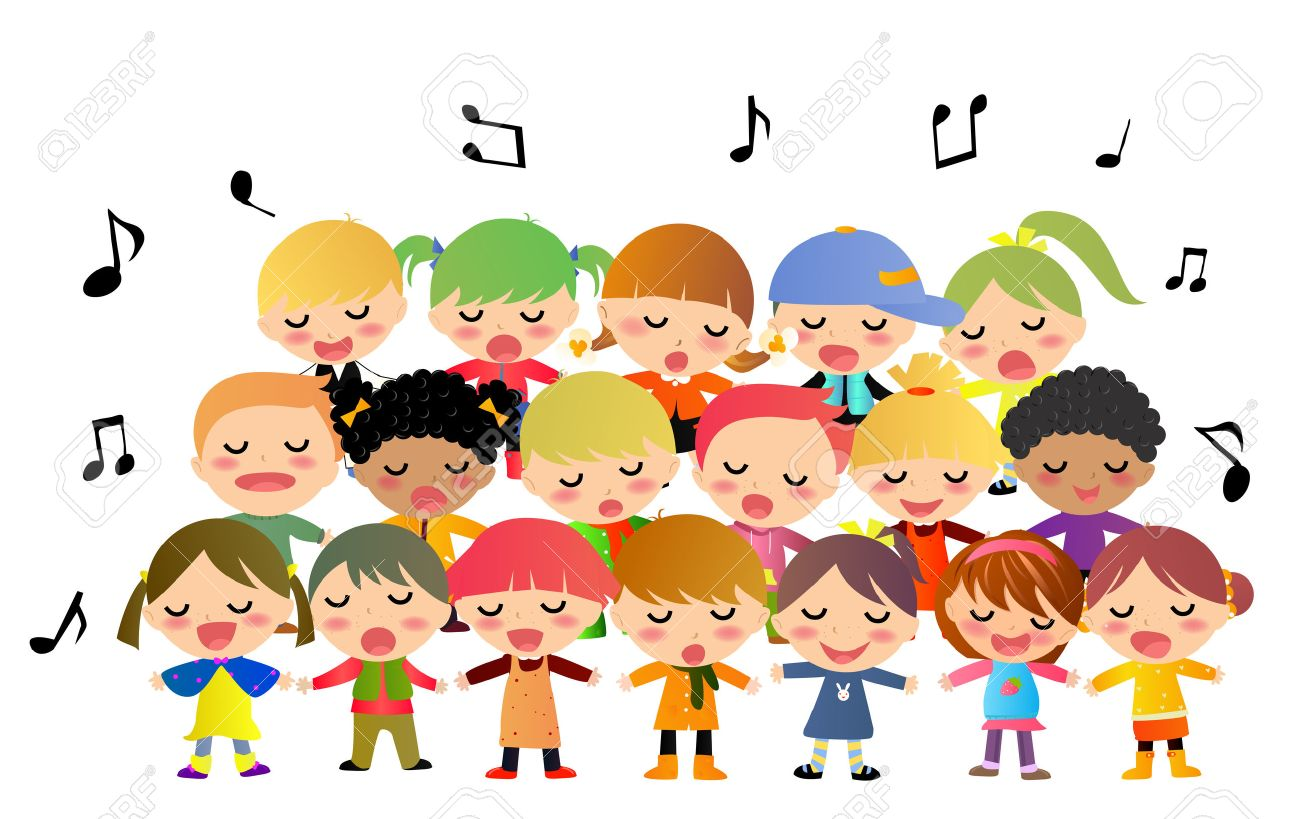 Singer clipart toddler. Free kids singing download