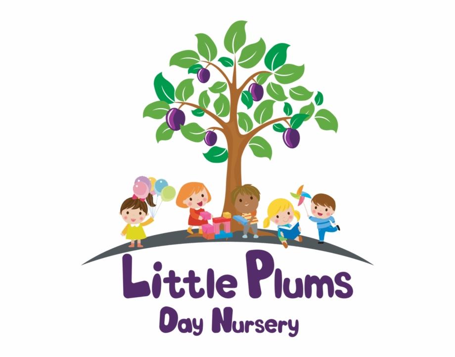 Nursery clipart logo. Little plums tree transparent